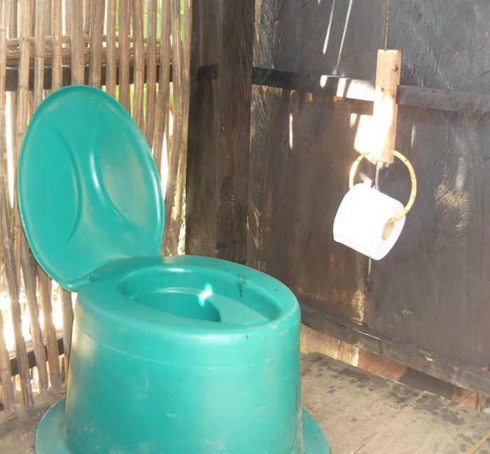 Eco Toilet built in Palomino, Colombia