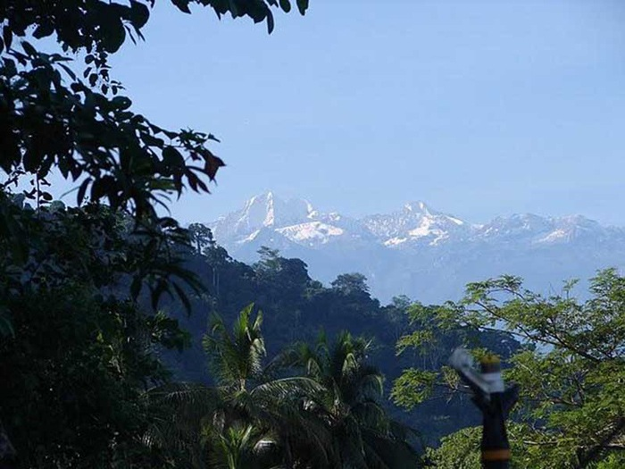 Palomino is located at the coast and near the Sierra Nevada in Northern Colombia