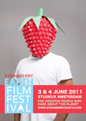 The official Strawberry Earth Film Festival 2011 poster
