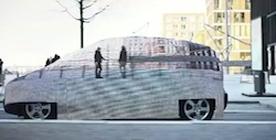 Zero emissions fuel cell introduced with 'invisible' Mercedes