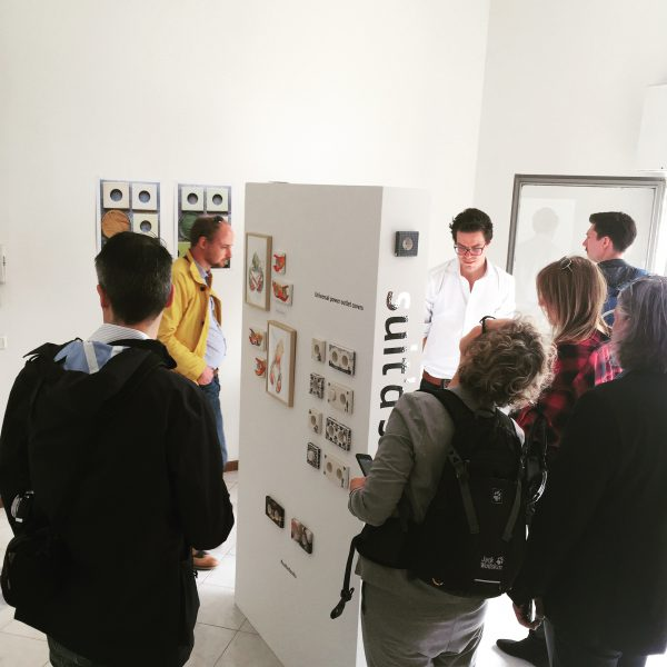 During the entire week, the public kept coming into the gallery.